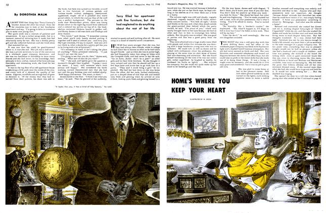 Article Preview: HOME'S WHERE YOU KEEP YOUR HEART, May 1948 | Maclean's