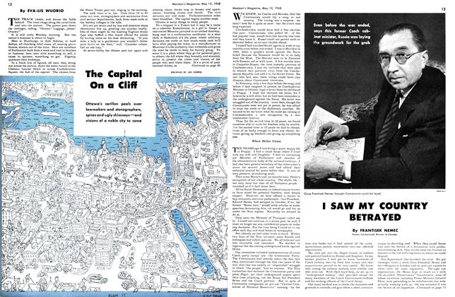 Article Preview: The Capital On a Cliff, May 1948 | Maclean's