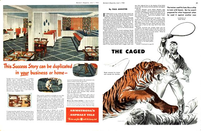 Article Preview: THE CAGED, June 1948 | Maclean's
