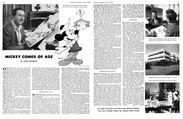 Article Preview: MICKEY CMES OF AGE, June 1948 | Maclean's