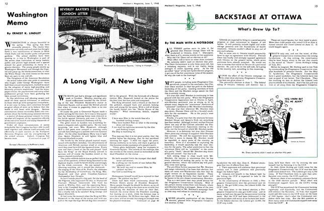 Article Preview: A Long Vigil, A New Light, June 1948 | Maclean's