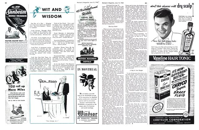 Article Preview: WIT AND WISDOM, June 1948 | Maclean's