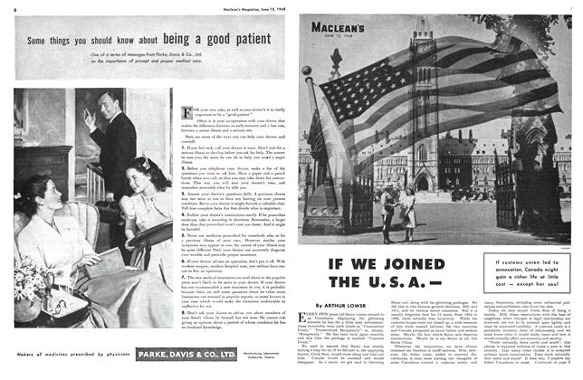 Article Preview: IF WE JOINED THE U.S.A.—, June 1948 | Maclean's