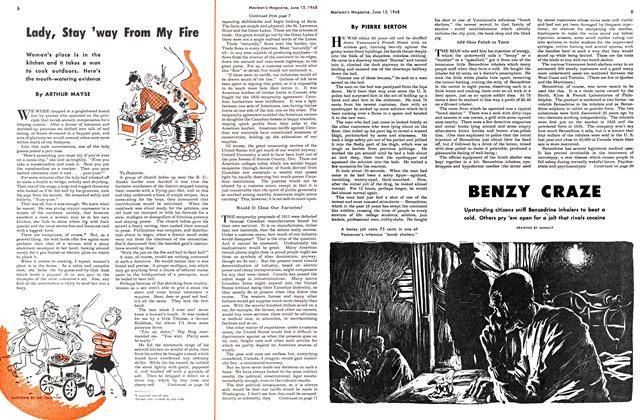 Article Preview: BENZY CRAZE, June 1948 | Maclean's