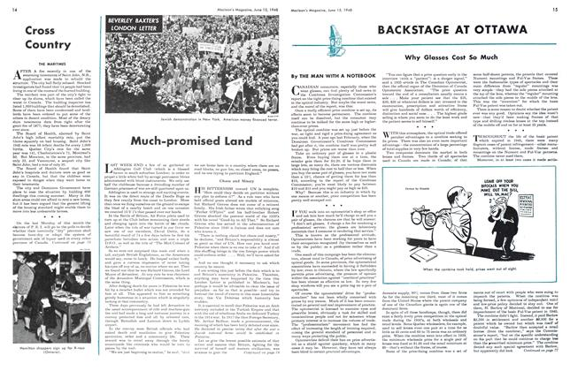 Article Preview: Much-promised Land, June 1948 | Maclean's