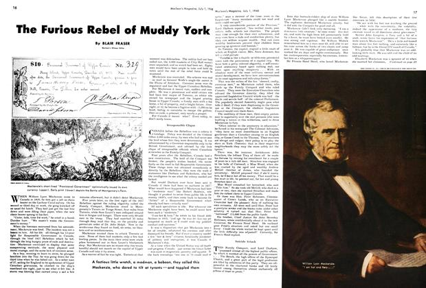 Article Preview: The Furious Rebel of Muddy York, July 1948 | Maclean's