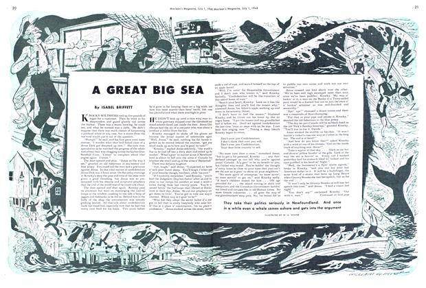 Article Preview: A GREAT BIG SEA, July 1948 | Maclean's
