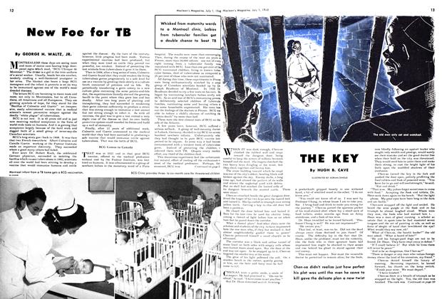 Article Preview: New Foe for TB, July 1948 | Maclean's