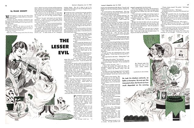 Article Preview: THE LESSER EVIL, July 1948 | Maclean's