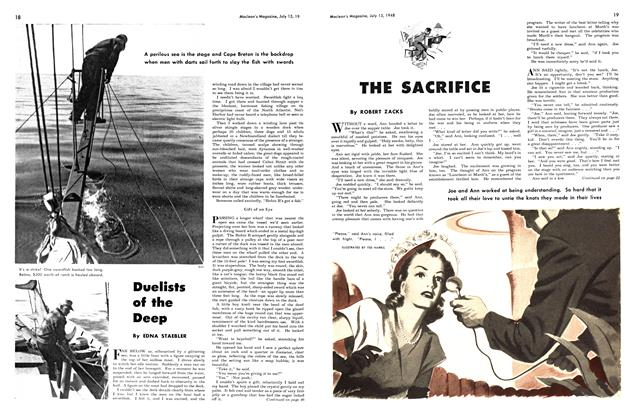 Article Preview: Duelists of the Deep, July 1948 | Maclean's