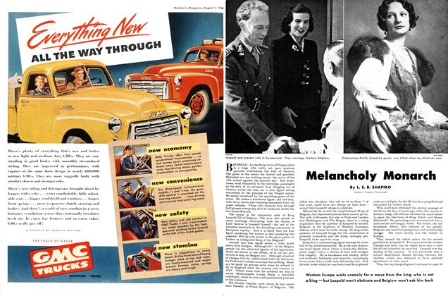 Article Preview: Melancholy Monarch, August 1948 | Maclean's