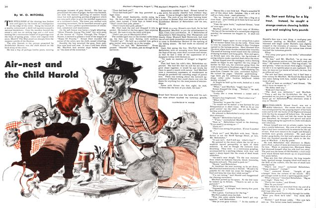 Article Preview: Air-nest and the Child Harold, August 1948 | Maclean's