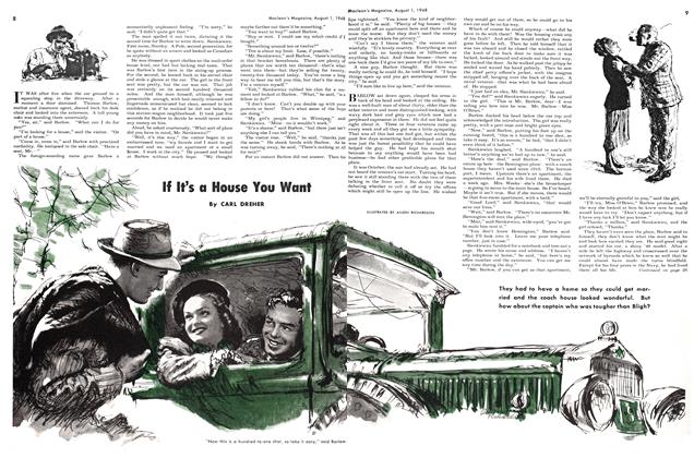 Article Preview: If It's a House You Want, August 1948 | Maclean's