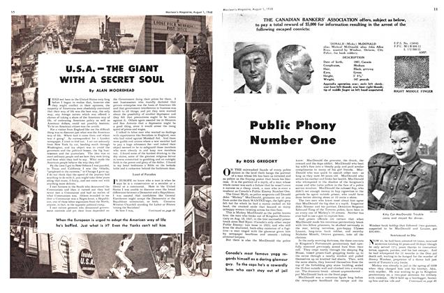 Article Preview: Public Phony Number One, August 1948 | Maclean's