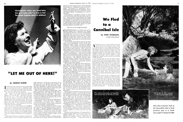 "Article Preview: ""LET ME OUT OF HERE!"", August 1948 