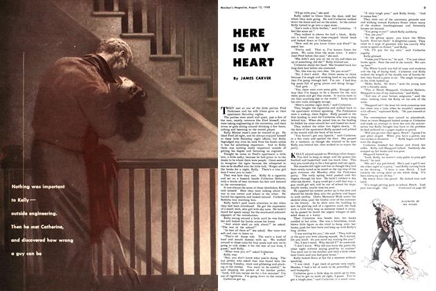 Article Preview: HERE IS MY HEART, August 1948 | Maclean's