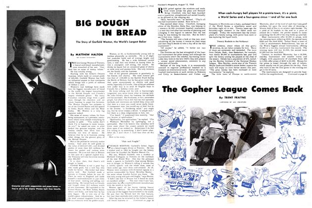 Article Preview: The Gopher League Comes Back, August 1948 | Maclean's
