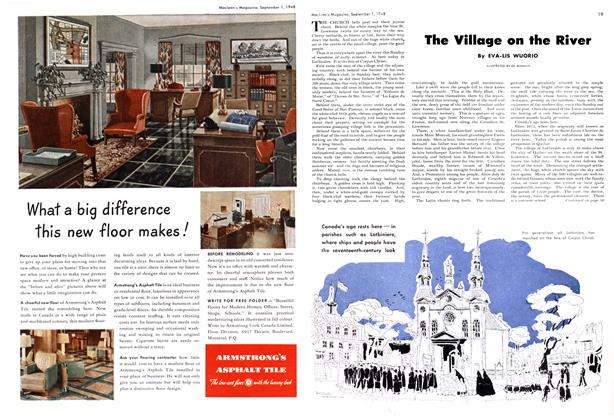 Article Preview: The Village on the River, September 1948 | Maclean's