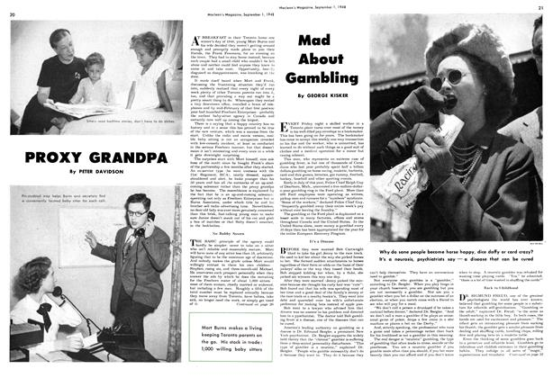 Article Preview: Mad About Gambling, September 1948 | Maclean's