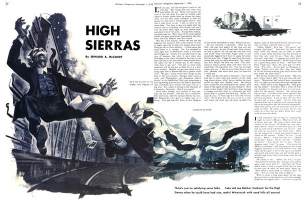 Article Preview: HIGH SIERRAS, September 1948 | Maclean's