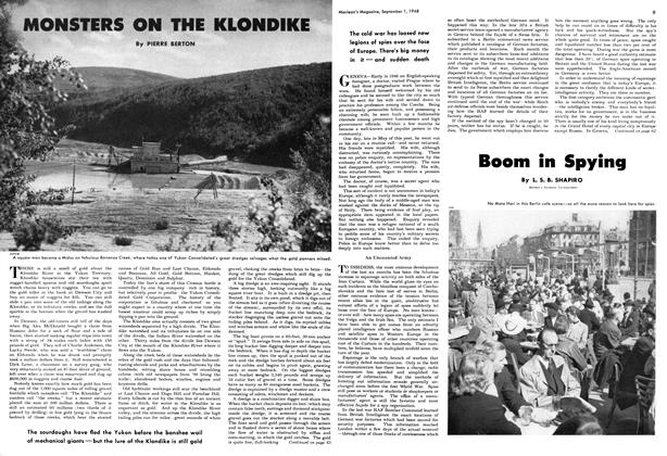 Article Preview: MONSTERS ON THE KLONDIKE, September 1948 | Maclean's