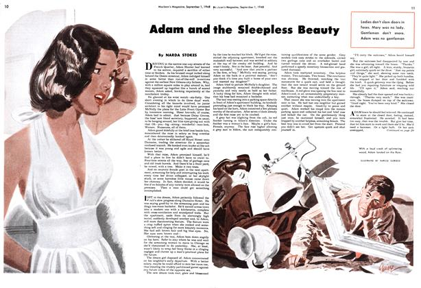 Article Preview: Adam and the Sleepless Beauty, September 1948 | Maclean's