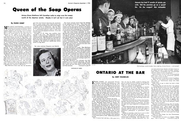 Article Preview: Queen of the Soap Operas, September 1948 | Maclean's