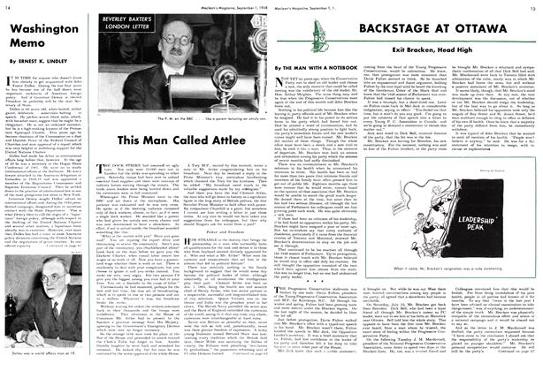 Article Preview: This Man Called Attlee, September 1948 | Maclean's