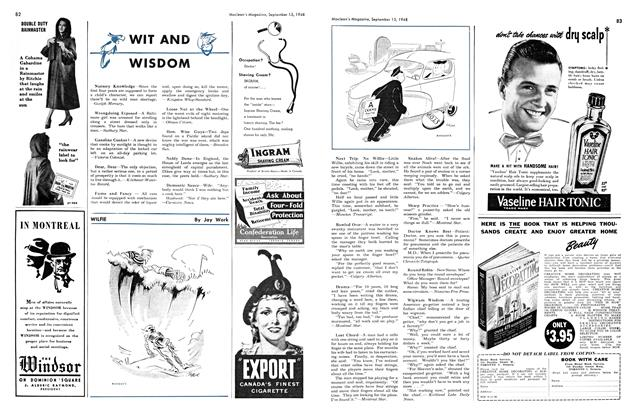 Article Preview: WIT AND WISDOM, September 1948 | Maclean's