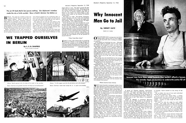 Article Preview: Why Innocent Men Go to Jail, September 1948 | Maclean's
