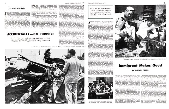 Article Preview: Immigrant Makes Good, October 1948 | Maclean's