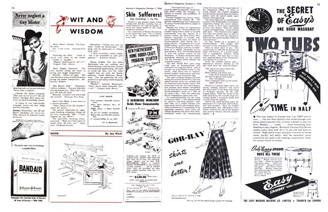 Article Preview: WIT AND WISDOM, October 1948 | Maclean's