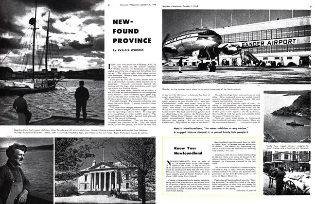 Article Preview: NEW-FOUND PROVINCE, October 1948 | Maclean's