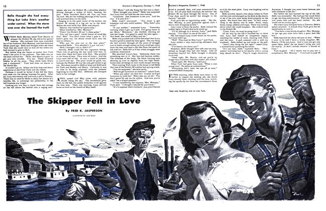Article Preview: The Skipper Fell in Love, October 1948 | Maclean's