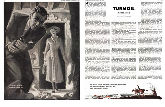 Article Preview: TURMOIL, October 1948 | Maclean's