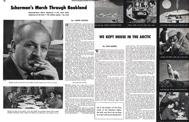Article Preview: WE KEPT HOUSE IN THE ARCTIC, October 1948 | Maclean's