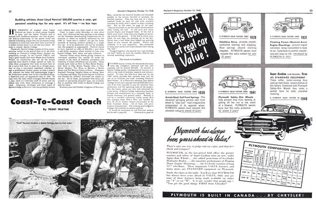 Article Preview: Coast-To-Coast Coach, October 1948 | Maclean's