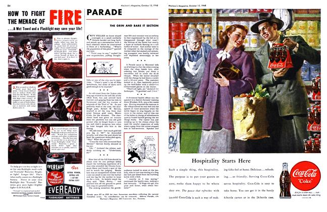 Article Preview: PARADE, October 1948 | Maclean's