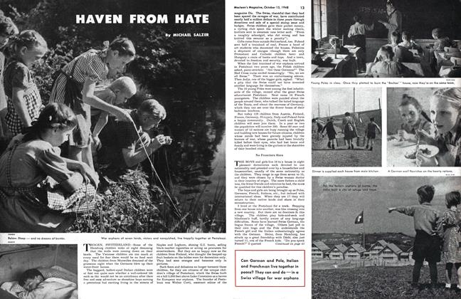 Article Preview: HAVEN FROM HATE, October 1948 | Maclean's