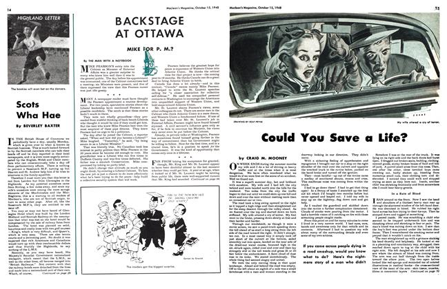 Article Preview: Could You Save a Life?, October 1948 | Maclean's