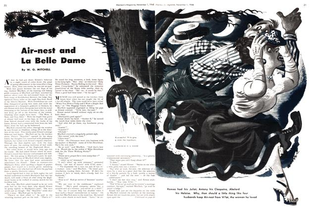 Article Preview: Air-nest and La Belle Dame, November 1948 | Maclean's