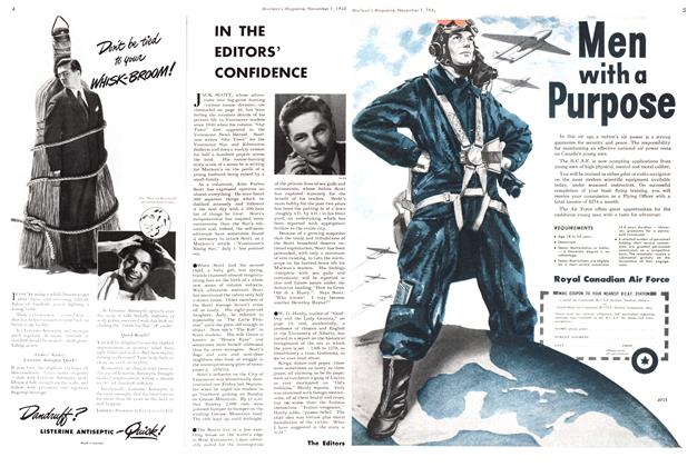 Article Preview: IN THE EDITORS' CONFIDENCE, November 1948   Maclean's