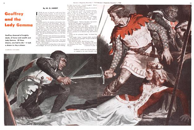 Article Preview: Geoffrey and the Lady Gemma, November 1948 | Maclean's