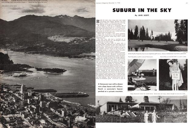 Article Preview: SUBURB IN THE SKY, November 1948 | Maclean's
