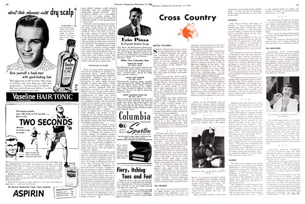 Article Preview: Cross Country, November 1948 | Maclean's