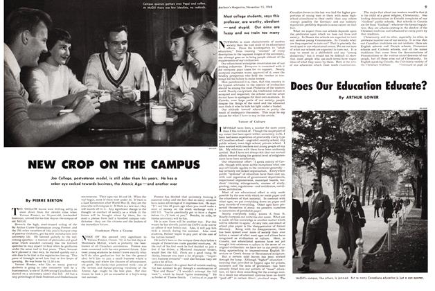 Article Preview: Does Our Education Educate?, November 1948 | Maclean's