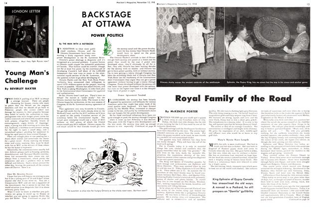 Article Preview: Royal Family of the Road, November 1948 | Maclean's