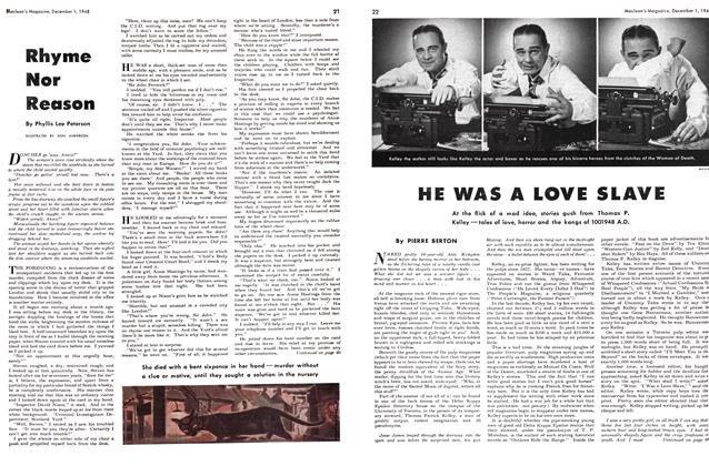 Article Preview: HE WAS A LOVE SLAVE, December 1948 | Maclean's
