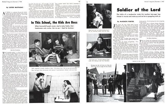 Article Preview: In This School, the Kids Are Boss, December 1948 | Maclean's