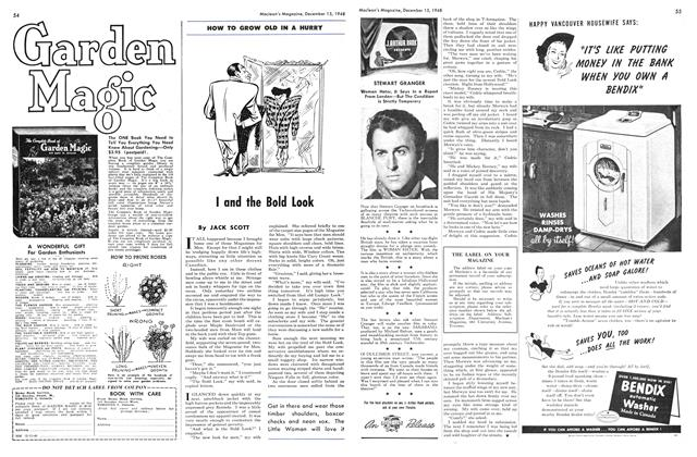 Article Preview: I and the Bold Look, December 1948 | Maclean's